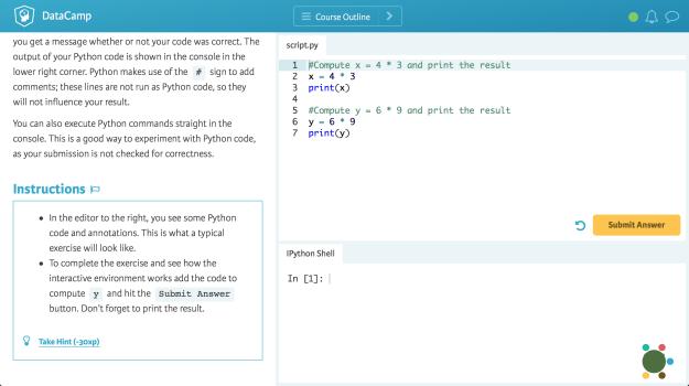 datacamp-editor