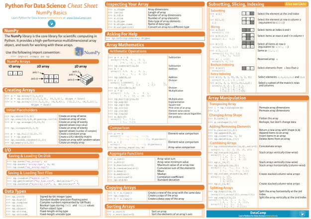 numpy_python_cheat_sheet